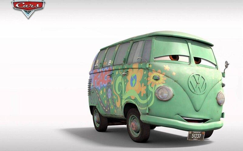 микроавтобус-хиппи Fillmore