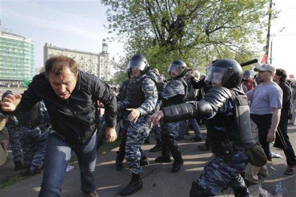 APTOPIX Russia Protest
