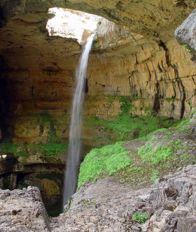 Водопад Баатара. Ливан