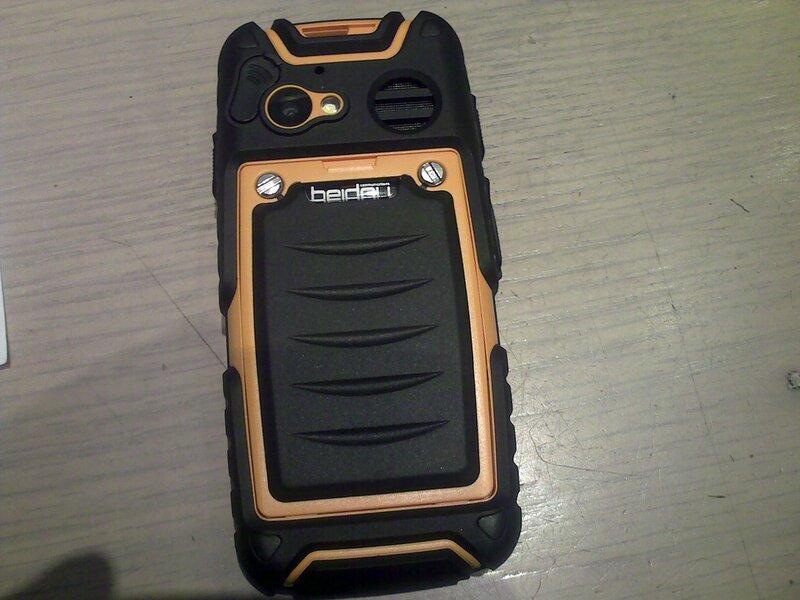 Телефон-рация Outfone BD 351 - водозащита и пылестойкость