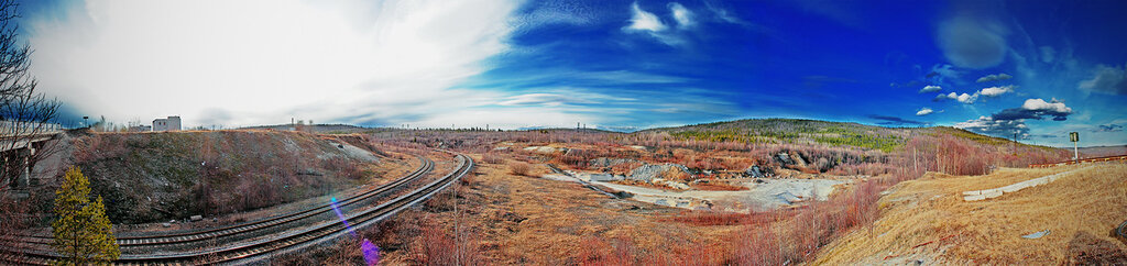 Панорама Мурманская область. 9 мая 2012.