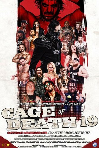 Post image of CZW Cage Of Death 19 — защита Чемпионства Мира NWA