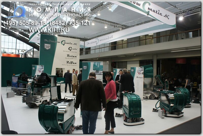 Выставка ISSA/Interclean Amsterdam 2012 - Dr. Gansow Gmatic AG