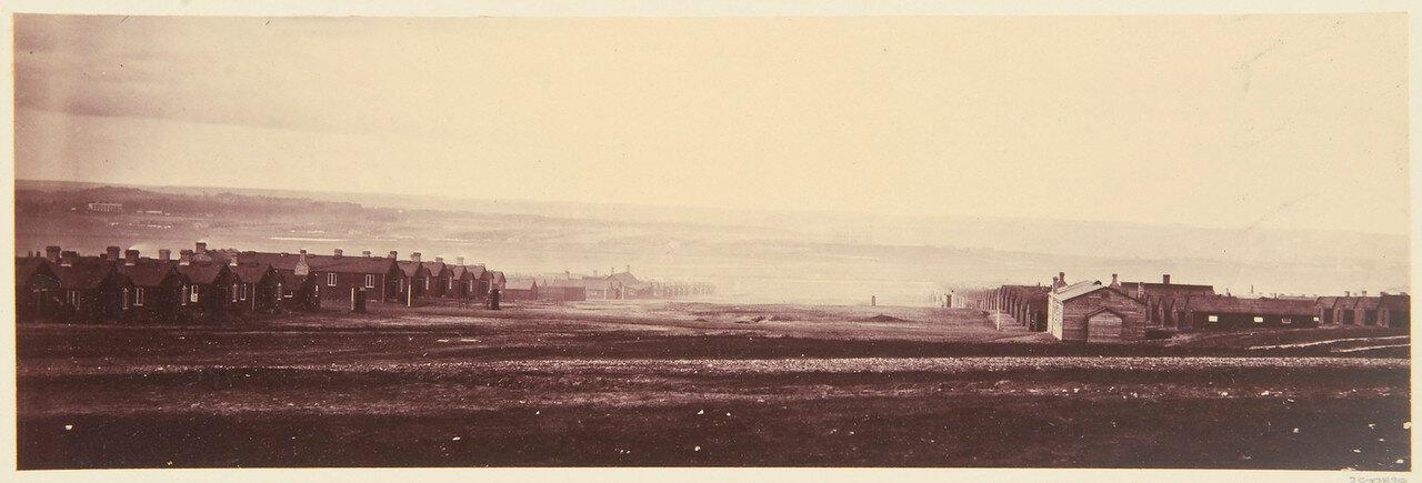 Вид на Северный лагерь из Южного
