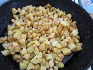 Вегетарианский омлет