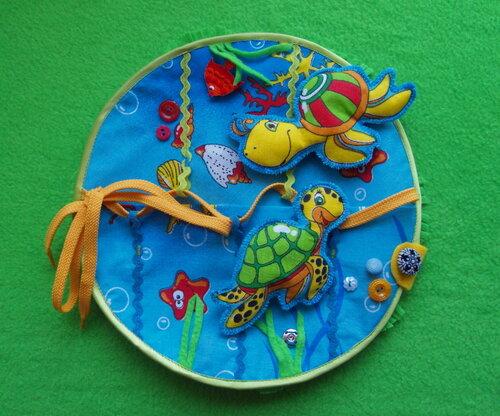 Развивающий коврик для детей ~ Подводный мир