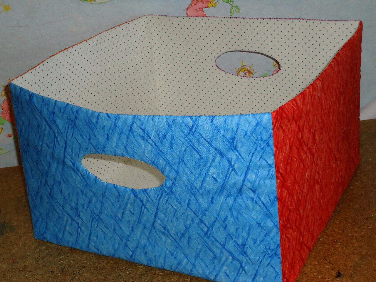 Как сшить тканевую коробку для хранения своими руками? 73