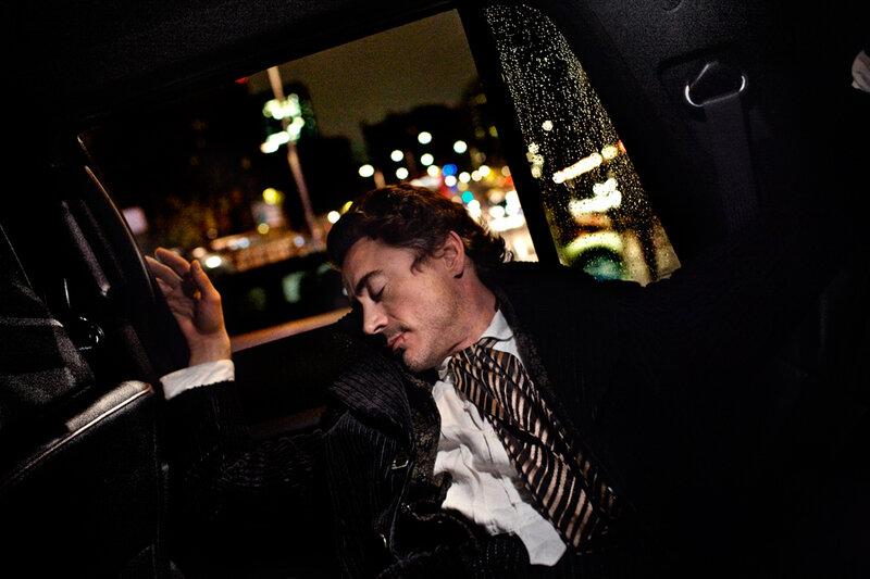 Роберт Дауни младший (Robert Downey Jr) февраль 2009
