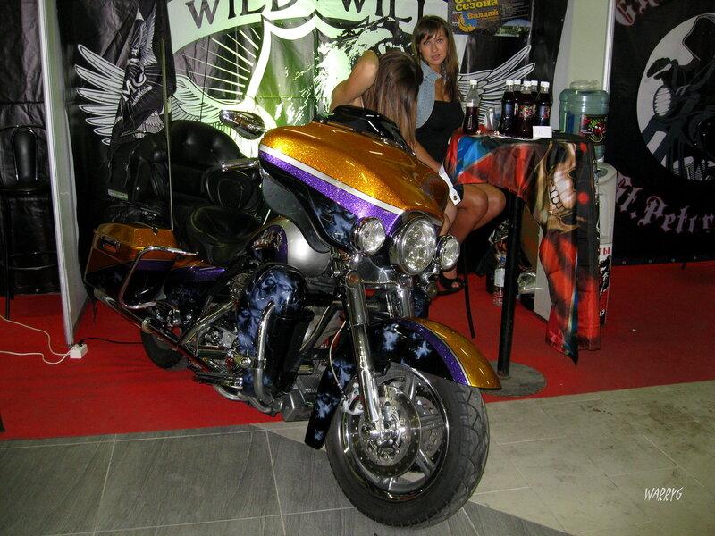 Мотоцикл мотоклуба «Wild Will MC».