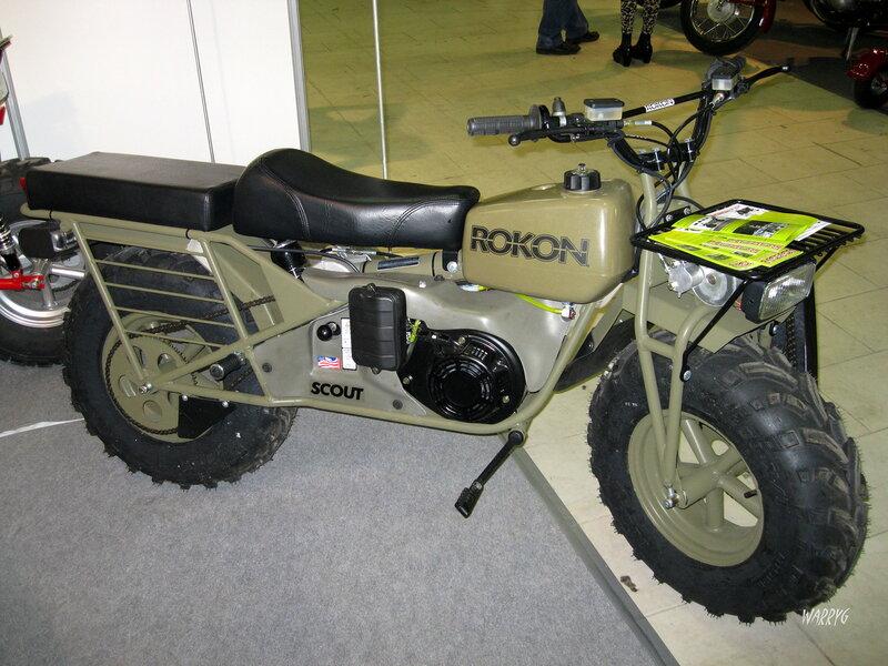 Мотосалон IMIS-2012 в «Гарден Сити». Мотовездеход Rokon Scout.
