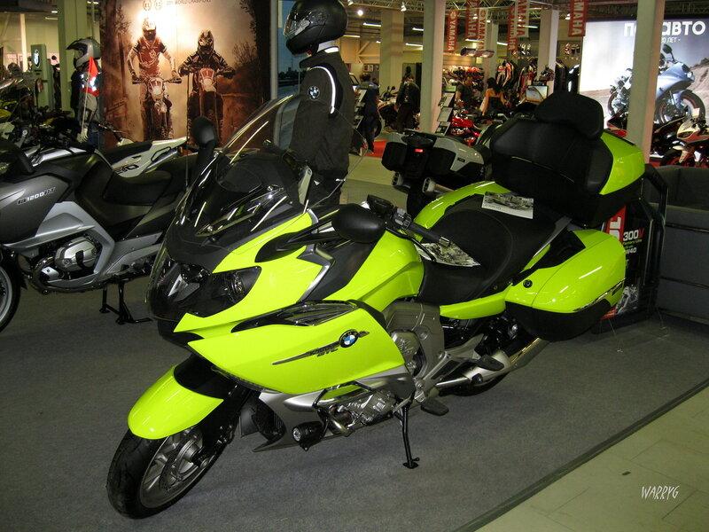 Мотоцикл BMW K 1600 GT.