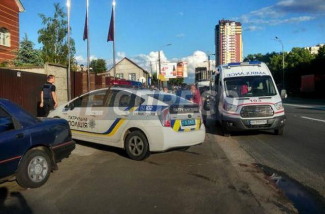 На СТО в Дарницком районе во время ремонта гозобалонного оборудования прогремел взрыв. ФОТО