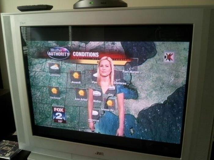 Почему метеорологам нельзя носить зеленую одежду