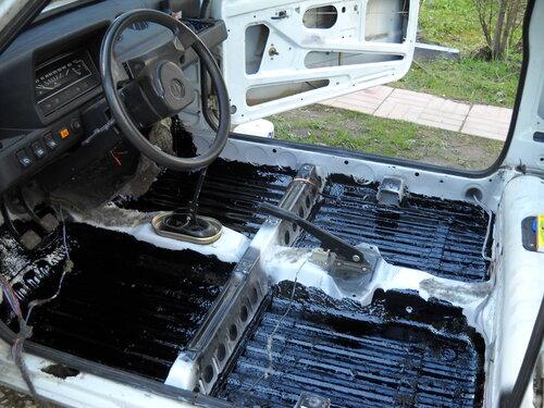 Резино-битумная мастика форум полиуретановые наливные полы для паркингов на резиновую крошку
