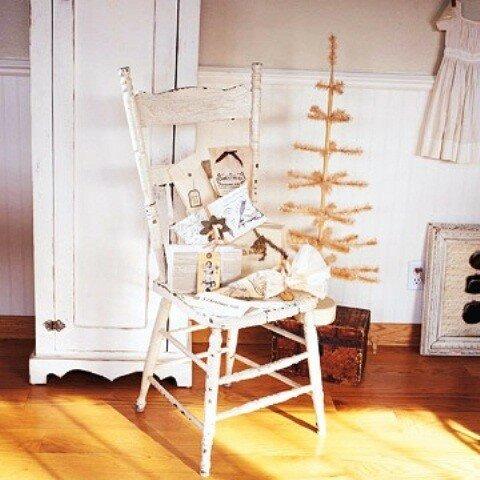 Белоснежный рождественский декор