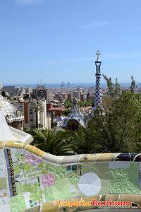 Barcelona, Park Guell, Gaudi