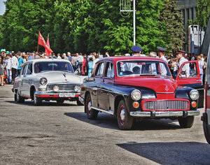 Варшава и Волга