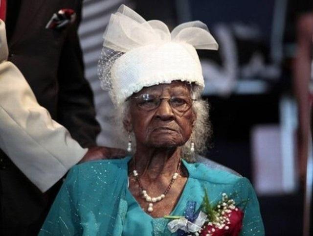 С 1 апреля самой старой женщиной планеты стала 116-летняя Гертруда Уивер