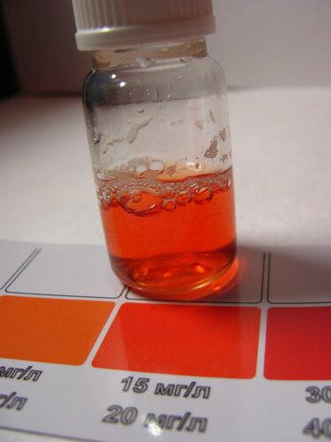 Апробация теста на нитраты от Ptero