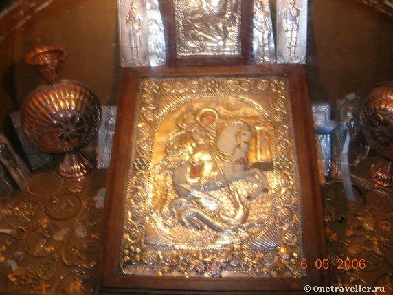 Чудотворная икона вмч. Георгия Победоносца в Каире