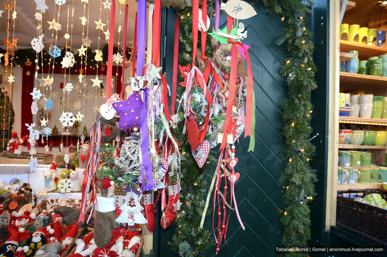 Рождественская  ярмарка в Шёнбрунне. Вена