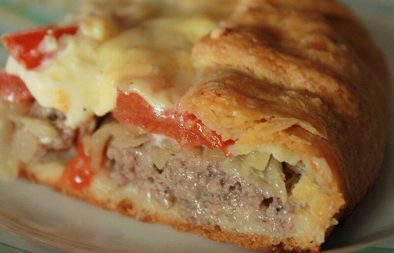 Пирог мясной рецепт