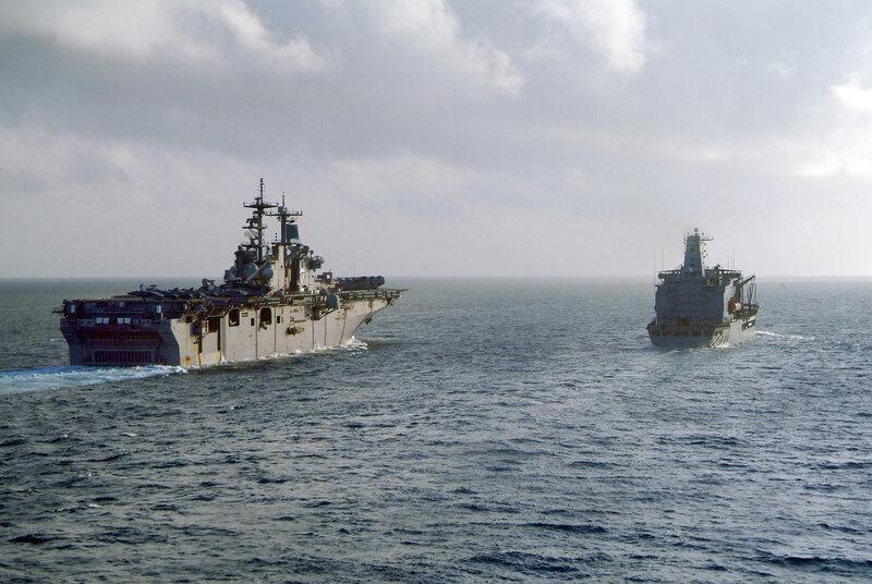 U.S. Navy completes suppor to Philippine landslide disaster, island of Leyte.