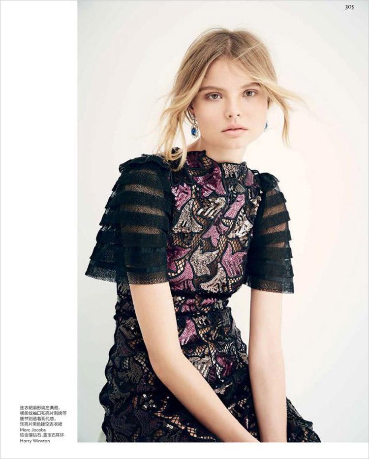 Магдалена Фраковяк в журнале Vogue China (10 фото)