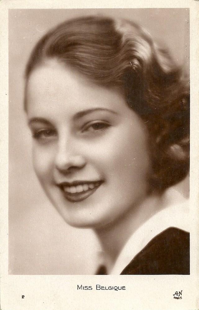 3. Мисс Бельгия Джанет Ван Парис. Победительница конкурса в 1930 году Алики Диплараку родилась в сем