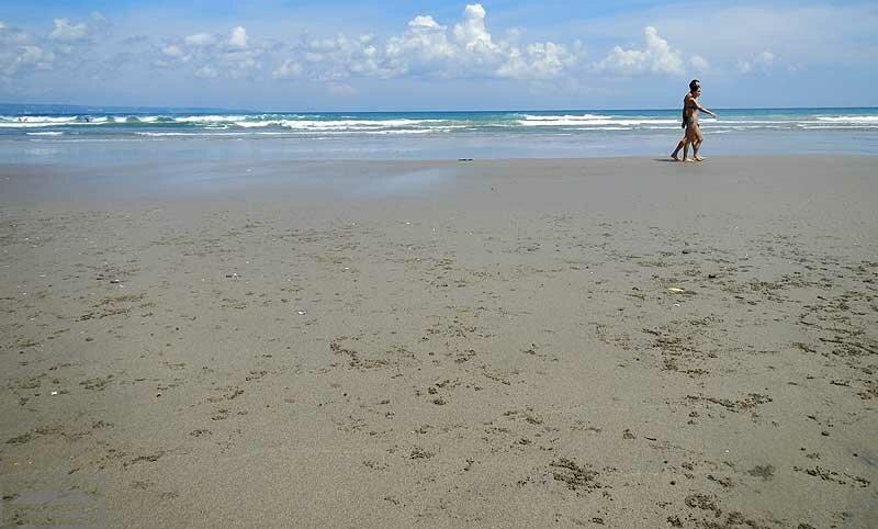На пляже Семиньяка