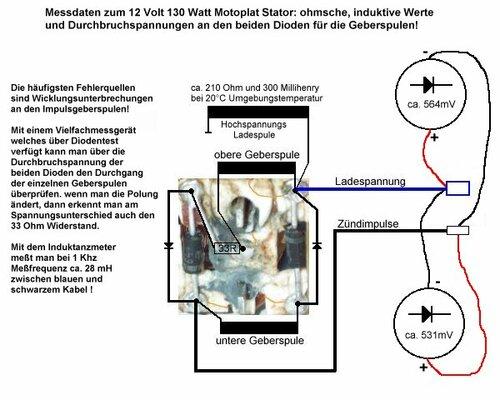 «Схема генератора от мопеда
