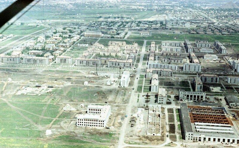 25. Донецк. Аэрофотосъемка начала 1960-х