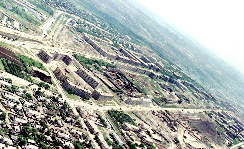 33. Донецк. Аэрофотосъемка начала 1960-х