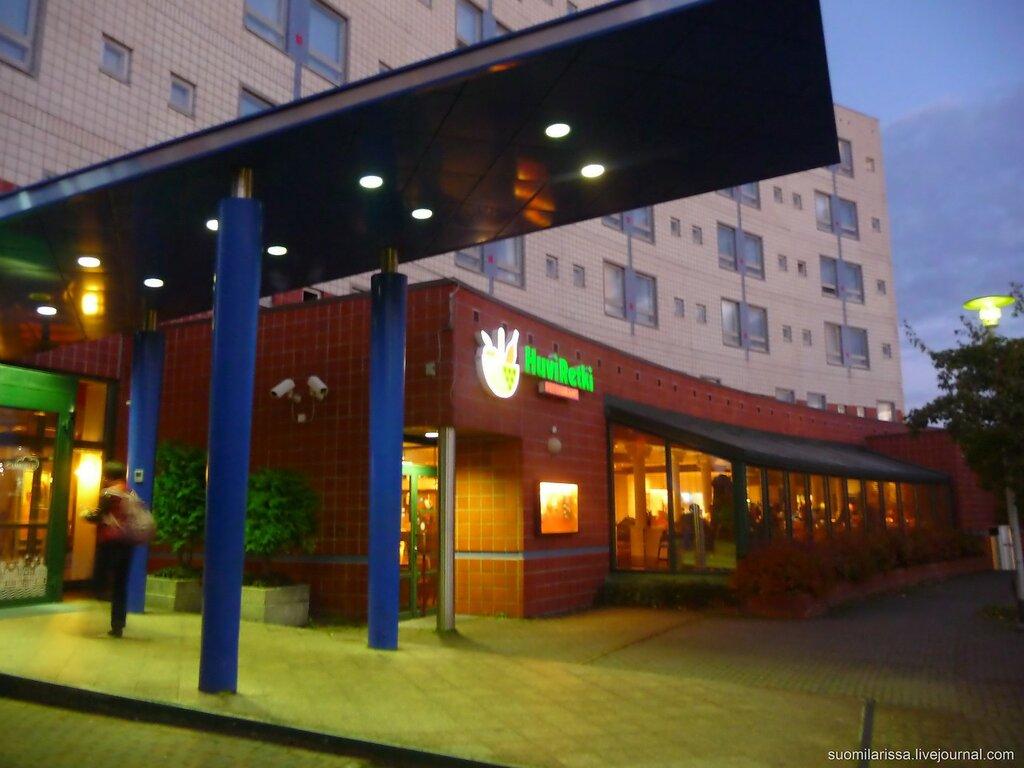 Отель в Хельсинки-Вантаа.