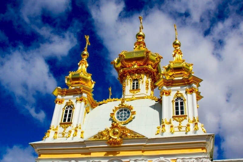 Купола церковного корпуса