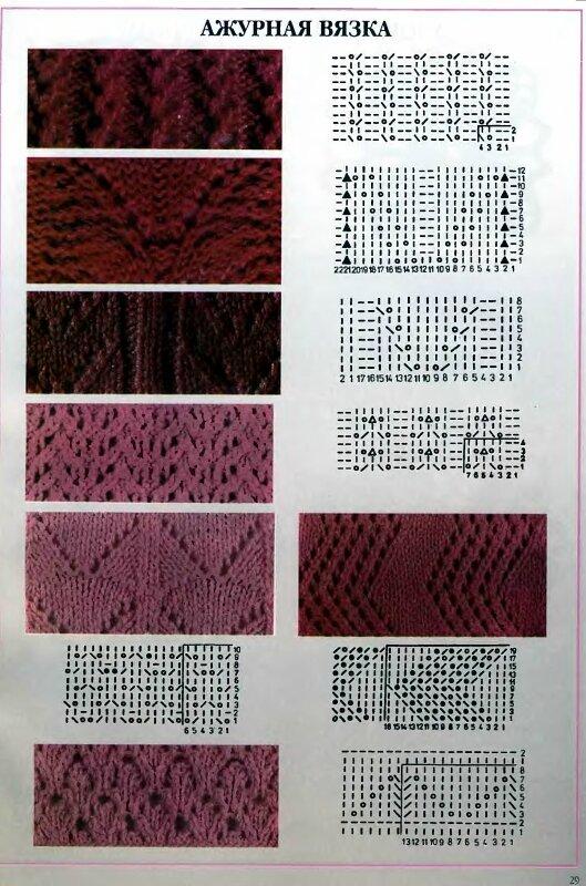 Бесплатные схемы вязания спицами и крючком.  Images for схема вязания ажурной жилетки.
