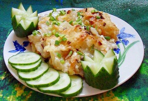Картошка по королевски рецепт со свининой