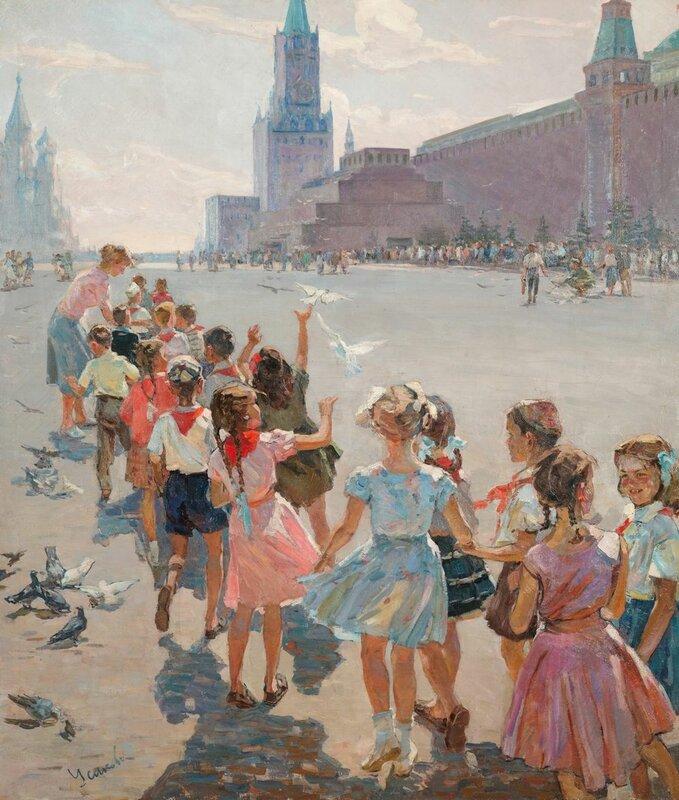 Усикова Евдокия Григорьевна.1960.