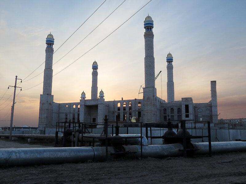 Строящаяся новая мечеть - 2012 год. Комментарии к фото - Кокшетау Онлайн