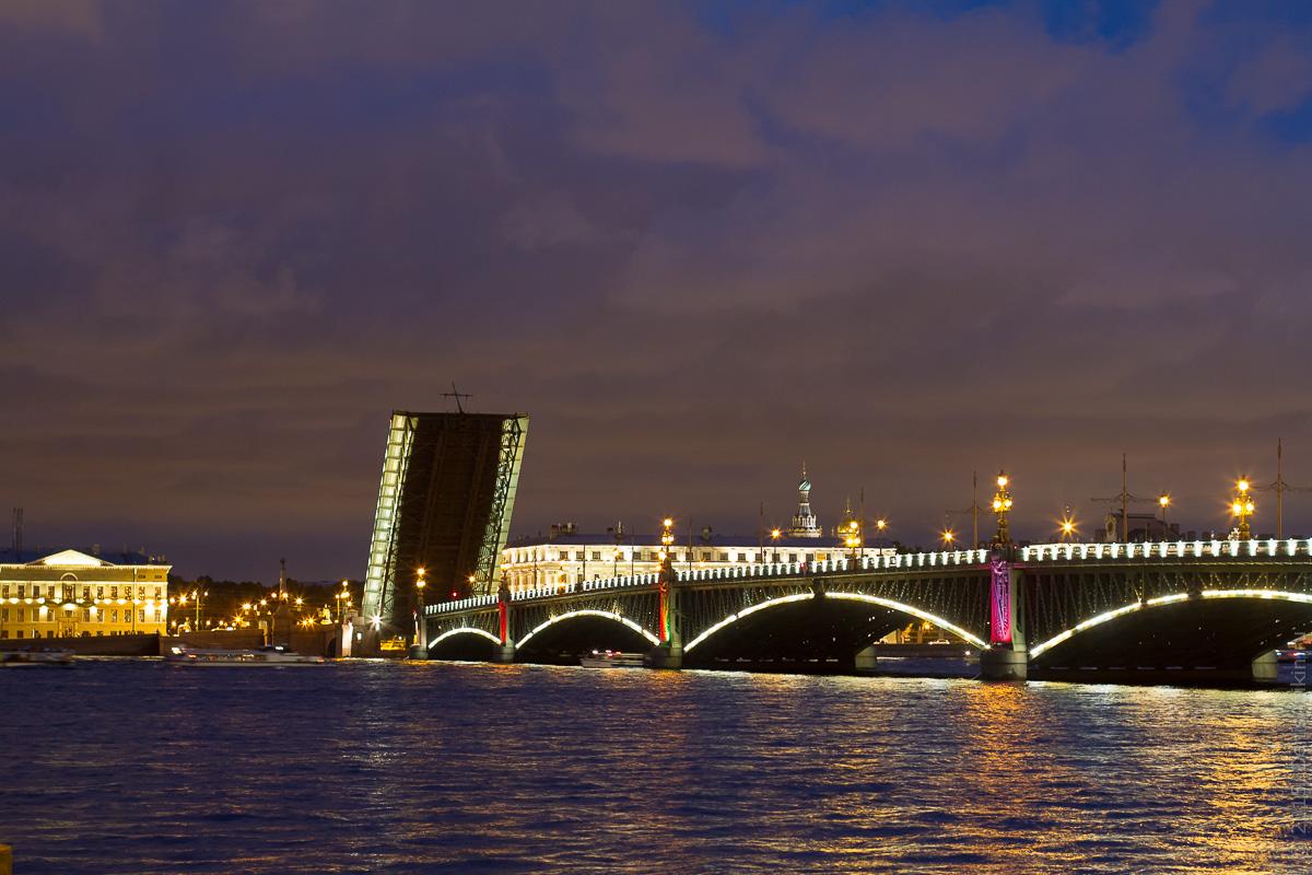 Санкт-Петербург развод мостов 6