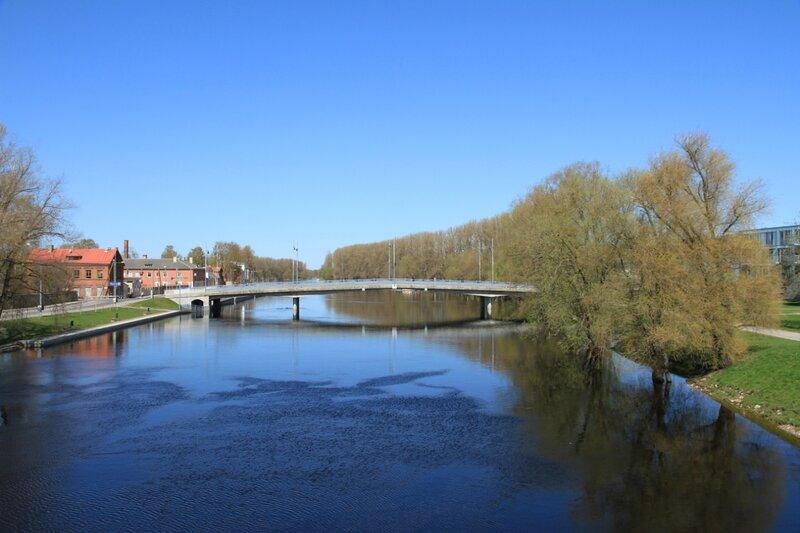 Эстония, Тарту, Железный мост