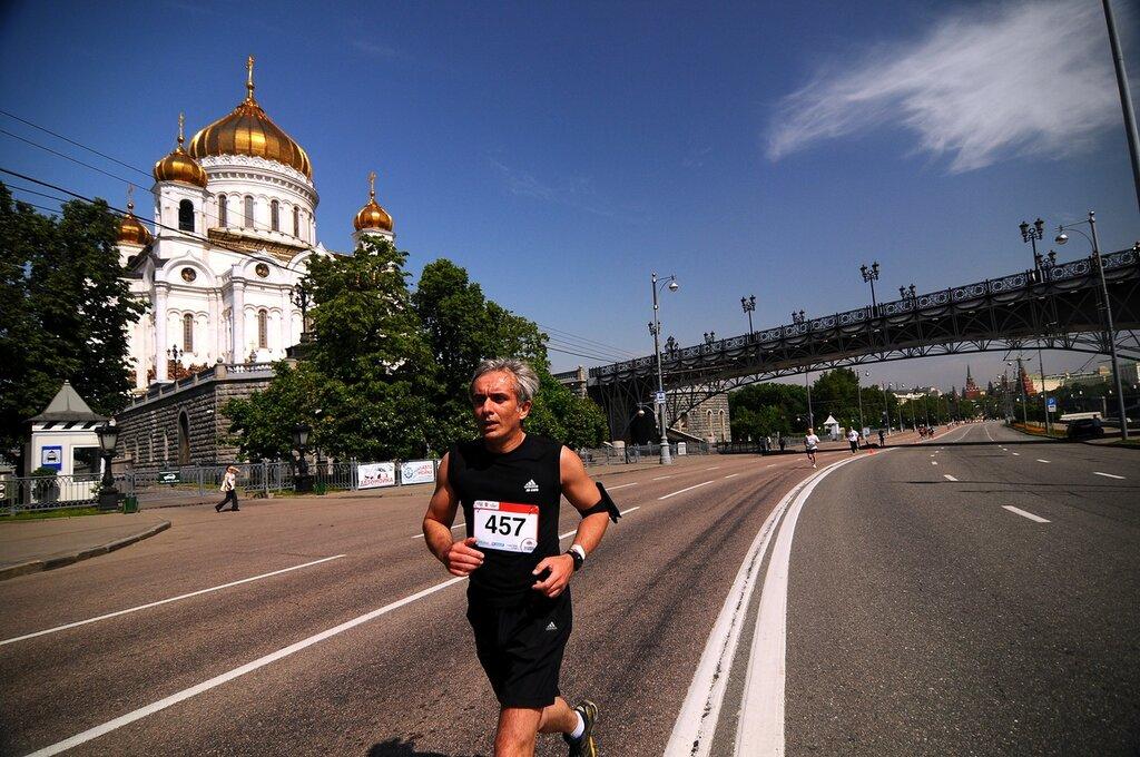 Благотворительный марафон «Лужники»