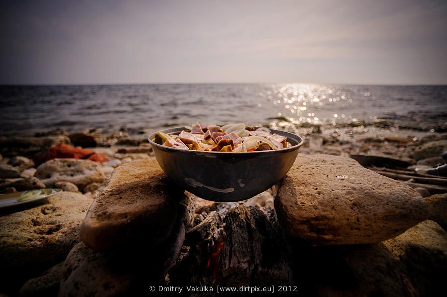Жаркое на морском берегу