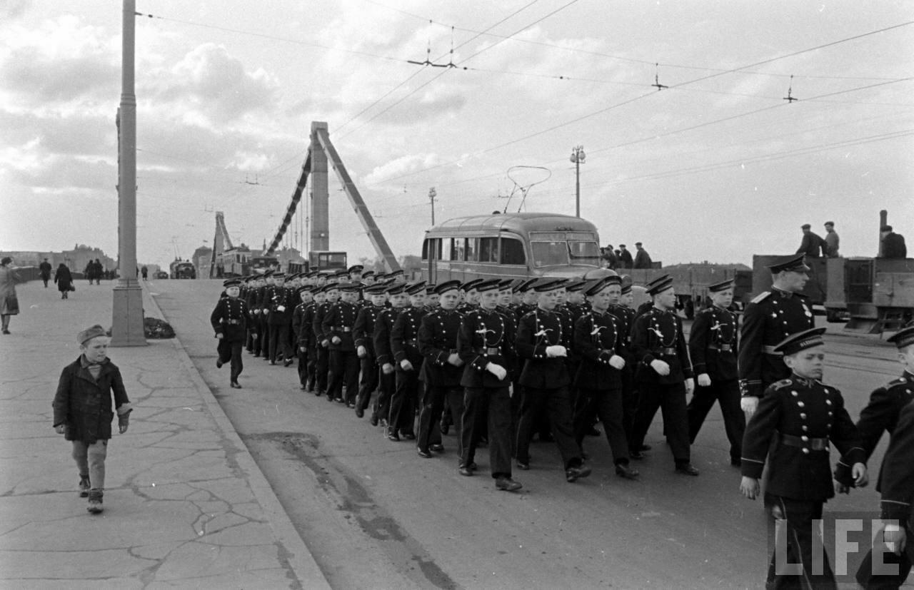 московский Первомай 1947 год