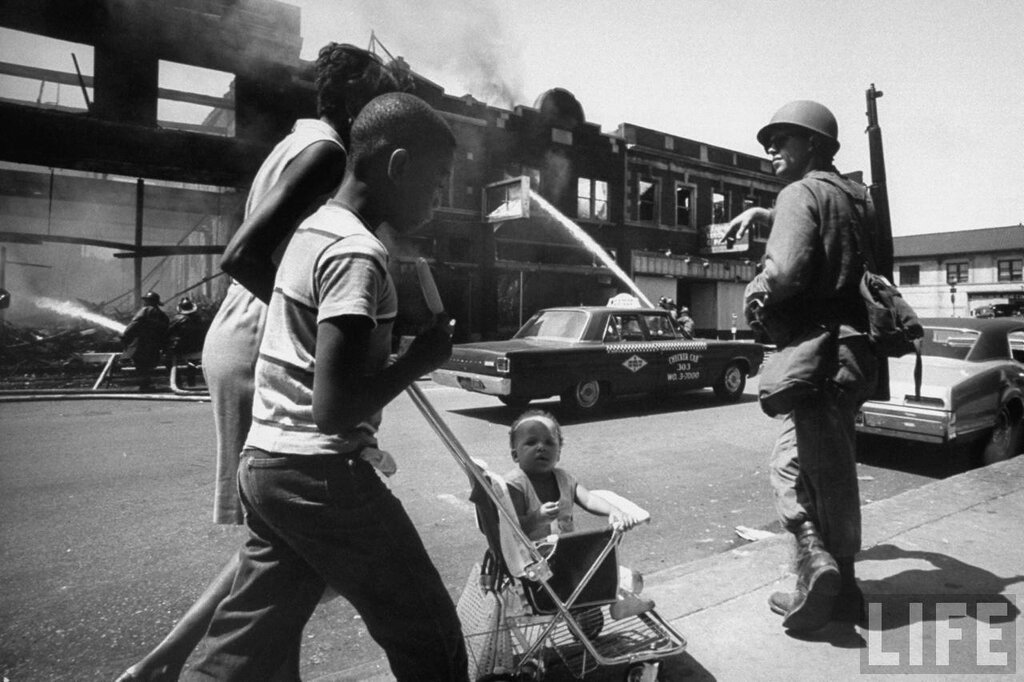 Detroit race riots 1967