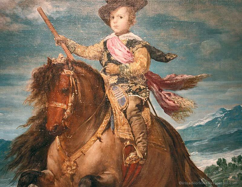 Диего Веласкес. Конный портрет Бальтасара Карлоса
