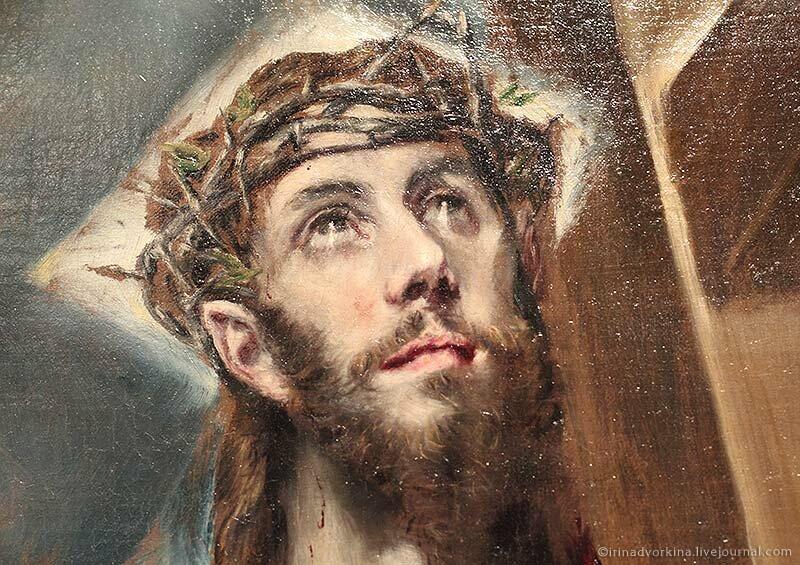 Эль Греко. Христос с крестом