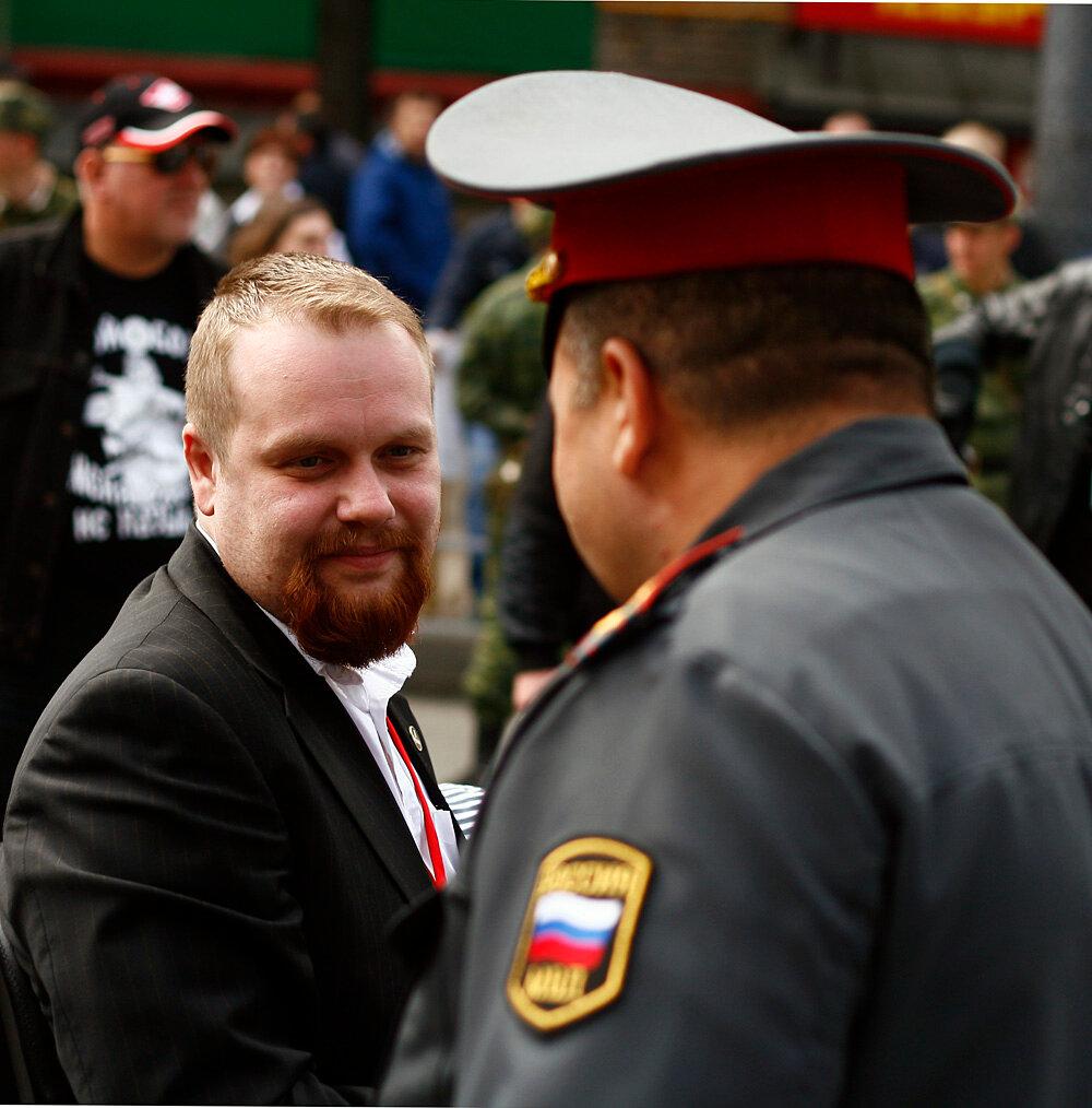 Шествие националистов вМоскве