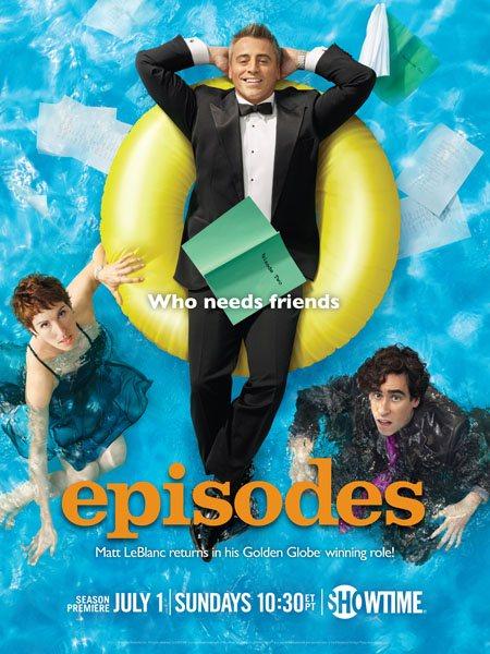 Эпизоды / Episodes (2 сезон/2012/HDTVRip)