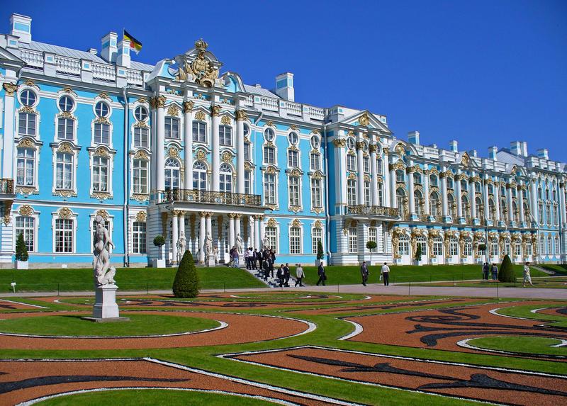 екатерининский большой дворец фото